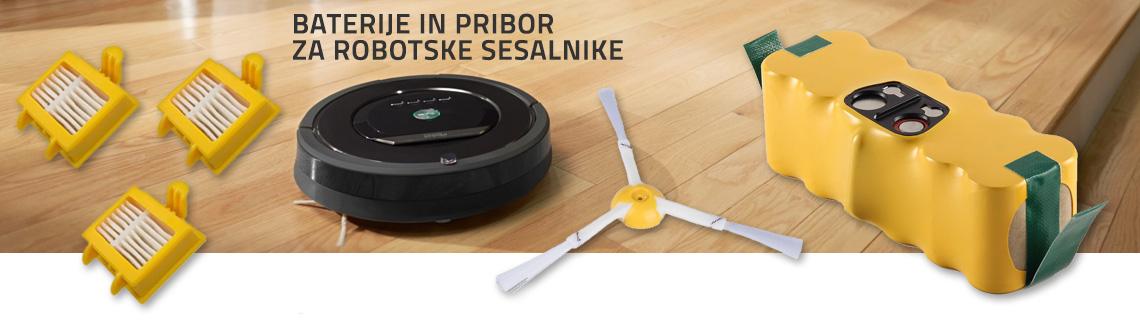 Baterije in pribor za robotske sesalnike