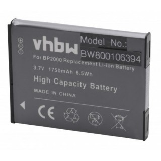Baterija BP2000 za Samsung Galaxy Camera 2 / EK-GC200, 1750 mAh