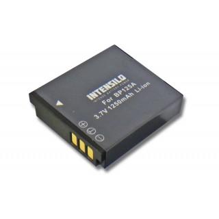 Baterija BP125A za Samsung HMX-M20 / HMX-Q10 / HMX-T10, 1250 mAh