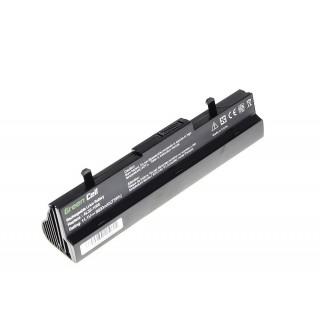 Baterija za Asus Eee PC 1001 / 1001H, črna, 6600 mAh