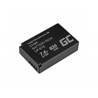 Baterija LP-E12 za Canon EOS 100D / EOS M, 820 mAh