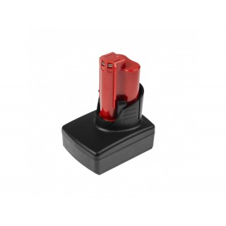 Baterija za AEG Milwaukee C12 B / C12 BX / M12, 12 V, 3.0 Ah