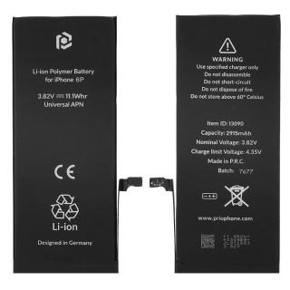 Baterija za Apple iPhone 6 Plus, 2915 mAh, vključen trak za pritrditev