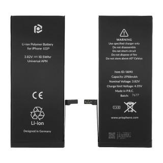 Baterija za Apple iPhone 6S Plus, 2750 mAh, vključen trak za pritrditev