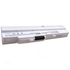 Baterija za Medion Akoya E1210 / MSI Wind U100 / U90, EXP, bela, 6600 mAh