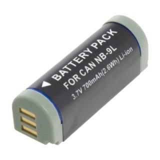 Baterija NB-9L za Canon Digital Ixus 500HS / 1000 / 1100HS / PowerShot N, EXP, 700 mAh