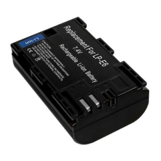 Baterija LP-E6 za Canon EOS 5D Mark III / EOS 5D Mark II / EOS 7D, 1400 mAh