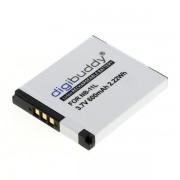 Baterija NB-11L za Canon PowerShot A2200 / A2300 / A2600, 600 mAh