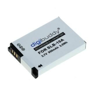 Baterija SLB-10A / BN-VH105 za Samsung ES55 / L100 / WB150F / JVC Adixxion GC-XA1, 950 mAh