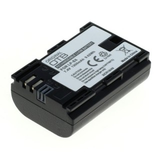 Baterija LP-E6 / LP-E6N za Canon EOS 5D Mark III / EOS 5D Mark II / EOS 7D, 1300 mAh