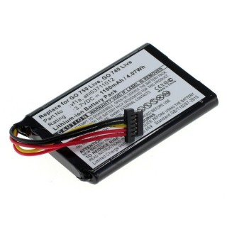 Baterija za TomTom Go 740 Live / 750 Live, 1100 mAh