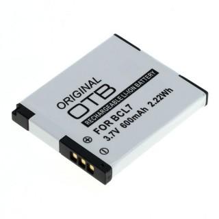Baterija DMW-BCL7 za Panasonic Lumix DMC-F5 / DMC-FH10 / DMC-XS1, 600 mAh