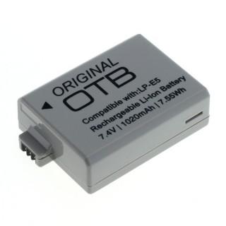 Baterija LP-E5 za Canon EOS-450D / EOS-500D / EOS-1000D, 1020 mAh