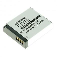 Baterija DMW-BLH7 za Panasonic Lumix DMC-GM1 / DMC-GM5, 650 mAh