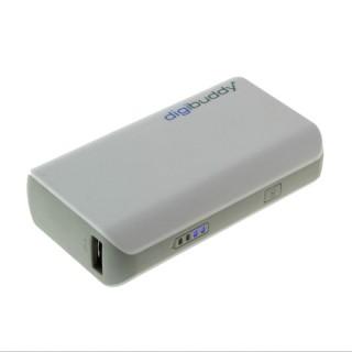 Polnilec PowerBank zunanji prenosni, beli, 4400 mAh