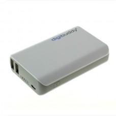 Polnilec PowerBank zunanji prenosni, 6600 mAh