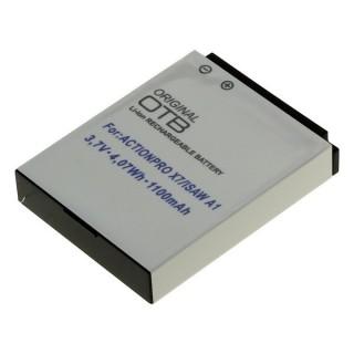 Baterija za Actionpro X7 / ISAW A1 / A2 Ace / A3 / Extreme, 1100 mAh