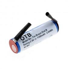 Baterija za Braun Oral-B Sonic Complete / Rowenta Dentasonic, 1100 mAh