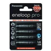 Panasonic Eneloop Pro baterija AA, 4 kos