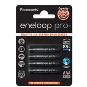 Panasonic Eneloop Pro baterija AAA, 4 kos