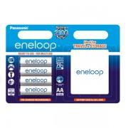 Panasonic Eneloop baterija AA, 4 kos s PVC škatlico