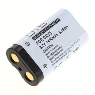 Baterija CR-V3 / LB-01 za Canon PowerShot A60 / Pentax Optio 230 / Olympus D100, 1400 mAh