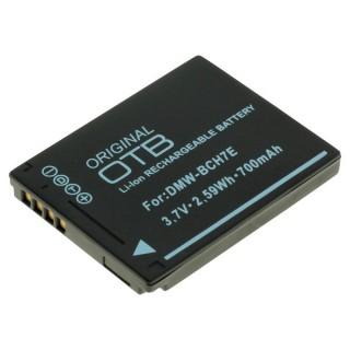 Baterija DMW-BCH7E za Panasonic Lumix DMC-FP1 / DMC-FT10, 700 mAh