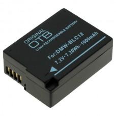 Baterija DMW-BLC12 za Panasonic Lumix DMC-FZ200 / DMC-GH2 / DMC-G5, 1000 mAh