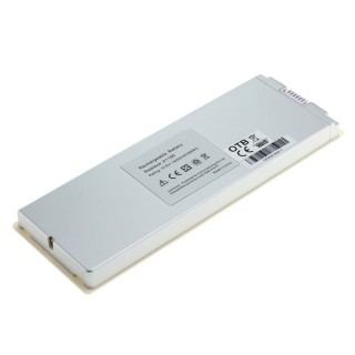 Baterija za Apple MacBook 13'' A1185, bela, 5200 mAh