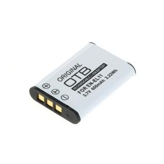 Baterija EN-EL11 za Nikon CoolPix 550 / Pentax Optio L50 / Olympus FE-370, 600 mAh