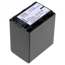 Baterija NP-FH100 / NP-FP100 za Sony DCR-DVD92 / HDR-HC7E / DCR-SR30, 1900 mAh