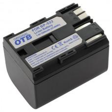 Baterija BP-508 za Canon MV30 / MVX1 / ZR60 / Optura 10, 3200 mAh