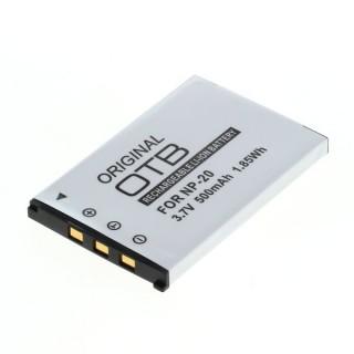 Baterija NP-20 za Casio Exilim EX-M1 / EX-Z3 / EX-S3, 500 mAh