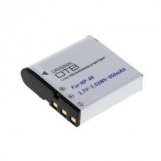 Baterija NP-40 za Casio Exilim Zoom EX-Z30 / EX-Z1000 / EX-Z1200, 950 mAh