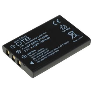 Baterija NP-30 Casio / NP-60 Fuji / KLIC-5000 Kodak, 1000 mAh