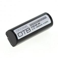 Baterija NP-80 za Fuji Finepix 1300 / 1400 / 4800 / 6800, 1600 mAh