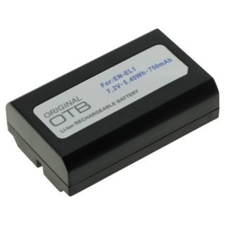 Baterija EN-EL1 za Nikon E880 / CoolPix 880 / 4300 / Konica Minolta Dimage A200, 750 mAh