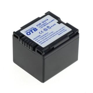 Baterija CGA-DU14 / CGA-DU21 za Panasonic NV-GS10 / PV-GS50 / VDR-M30, 1400 mAh