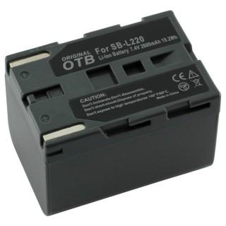 Baterija SB-L220 za Samsung SC-D130 / VP-D20 / VP-D75, 2600 mAh