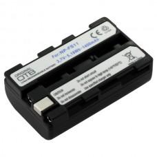 Baterija NP-FS11 za Sony CCD-CR1 / DCR-PC1 / DCR-TRV1VE / DSC-F55V, 1400 mAh