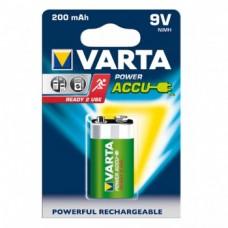 Varta Power Accu baterija 9V / E-Block, 1 kos