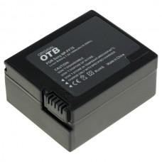 Baterija NP-F70 / NP-FF71 za Sony DCR-HC1000 / DCR-IP5 / DCR-PC350, 1400 mAh