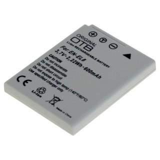 Baterija EN-EL8 za Nikon CoolPix S1 / S2 / S3 / P1 / P2, 600 mAh