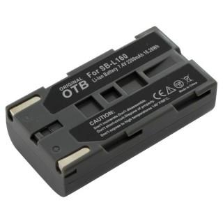 Baterija SB-L110A / SB-L160 / SB-L320 / SB-L480 za Samsung SC-D180 / VM-A110 / VP-M50, 2200 mAh