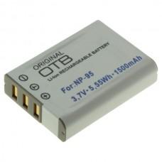 Baterija NP-95 za Fuji Finepix F30 / X30 / X100, 1500 mAh