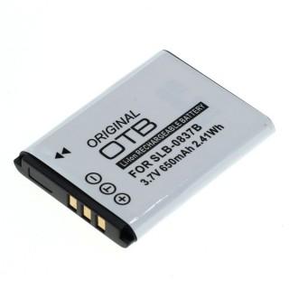 Baterija SLB-0837B za Samsung Digimax L70 / L83T / L201, 650 mAh