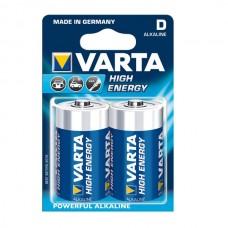 Varta High Energy baterija Mono / D, 2 kos