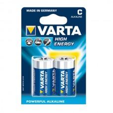 Varta High Energy baterija Baby / C, 2 kos
