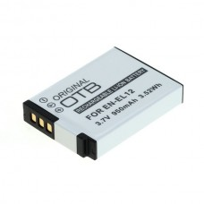 Baterija EN-EL12 za Nikon Coolpix S620 / S640 / S1000 / S8000, 950 mAh