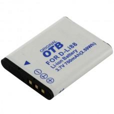 Baterija D-LI88 za Pentax Optio E71 / H90 / P70 / P80 / W90 / WS80, 700 mAh